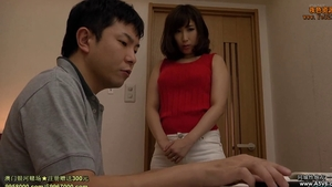 Tied up with large tits japanese stepmom