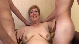 Hard slamming in the company of super sexy french MILF