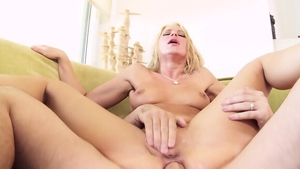 Ramming hard together with blonde babe Anikka Albrite