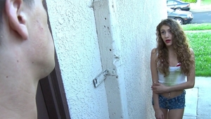 Submissive ramming hard starring skinny teen chick Rebel Lynn