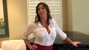 Huge tits & sexy MILF Alexis Fawx rough cock sucking