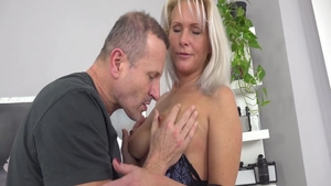 Big ass and super hot Kathy Anderson pussy fuck at the casting