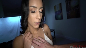 Sex in company with filthy latina brunette Tia Cyrus
