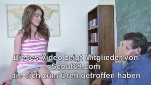 Very small tits deutsch college girl hardcore sucking big cock