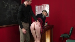 Nailed rough accompanied by hot blonde hair Lexi Lou
