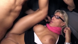Naughty deutsch blonde has a passion for plowing hard in HD
