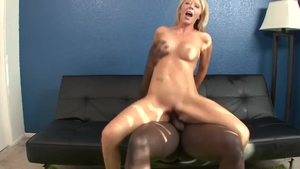 Messy nailing accompanied by Ashley Winters