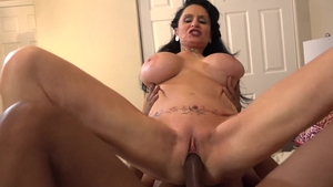Big boobs busty mature Rita Daniels hardcore cumshot in HD