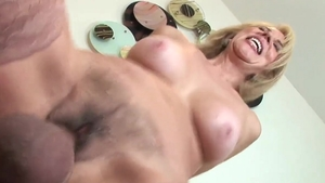 Real fucking together with large boobs pornstar Erica Lauren