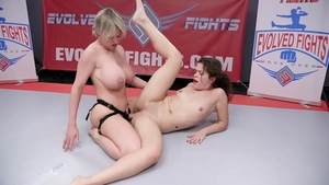 Reality femdom with naked Victoria Voxx next to Victoria Voxxx