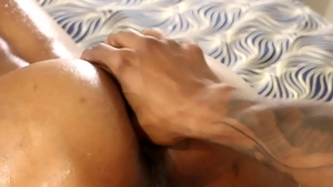 Cleanest nailed rough escorted by wet ebony brunette