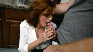 Andi James gets a buzz out of cumshot