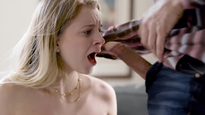Very small tits blonde Riley Star loves big cock Steve Holmes