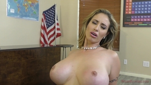 Pornstar Eva Notty rough ass pounded in office in HD