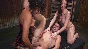 Filthy mature Daisy Ducati has a soft spot for ramming hard