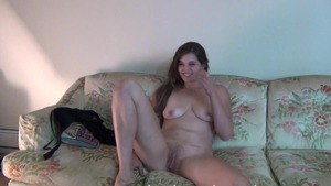 Solo shaved and big boobs amateur reality striptease