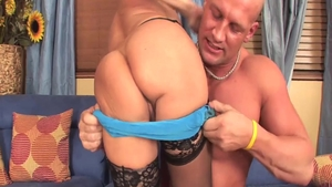 Hard slamming together with hot MILF Cala Craves