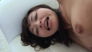 Rough nailing together with lustful asian teen Marica Hase