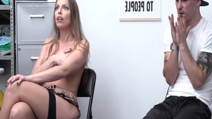 Britney Amber in stockings pounding