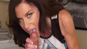 Perfect granny experience anal
