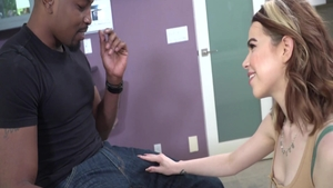 Asian Alina West loves Alexa Tomas anal interracial