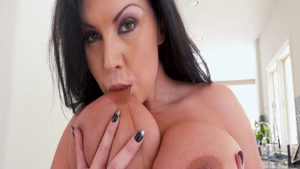 Crazy rough nailing along with glamour mature Sheridan Love