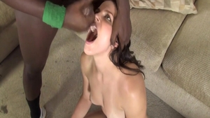 Sweet & wild babe Bobbi Star experience dick sucking