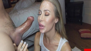 Nicole Aniston is really large tits blonde