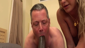 Very hot wife rough interracial sex