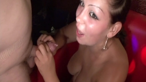 Rough hungarian pussy fuck at the party