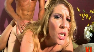 The best sex together with very hot blonde hair Renee Ross