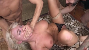 Busty babe London RIver has a thing for slamming hard