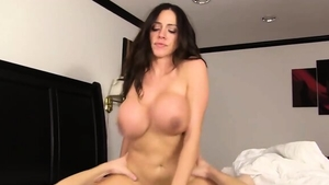 Plowing hard together with big butt stepmom