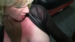 Hard nailining in the company of busty blonde haired