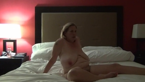 Real sex in company with busty amateur