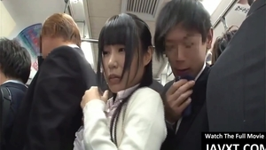 Big boobs asian brunette good fucking in the bus