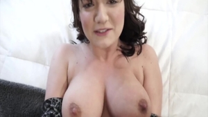 Charlotte Cross is really big tits babe