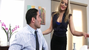 Sexy big ass pornstar Alexis Texas hard cumshot in office
