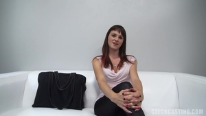 Small tits female at castings in HD