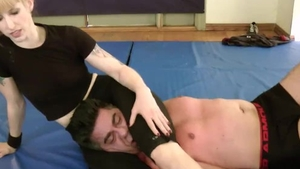 Hottest domination wrestling roped in HD