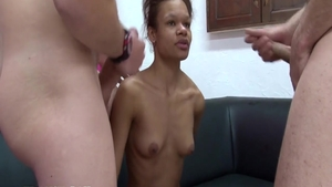 Passionate french slut gets a buzz out of slamming hard HD