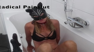 'Drooling, Spitting, Pissing And Squirting Degraded resigned Painslut'