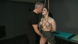Fetish rough fucking alongside Lucia Love