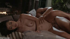 Exotic chick asian brunette wants rough nailing in HD