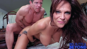 Large tits inked stepmom Syren De Mer anal in HD