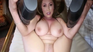 Nailed rough in the company of large boobs mature Kianna Dior