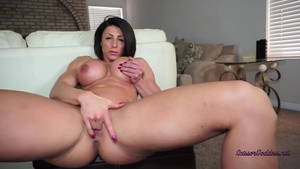 Nailed rough in the company of large tits goddess