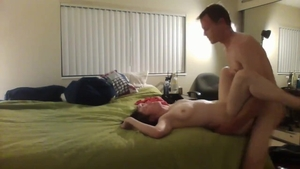 Big ass young brunette first time HD