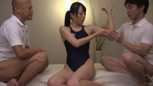 Kinky japanese loves rough fucking in a suit in HD