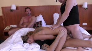 Russian cum in mouth at the audition HD